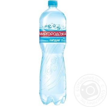 Light sparkling water Myrgorodska Lagidna 1,5l - buy, prices for Auchan - image 1