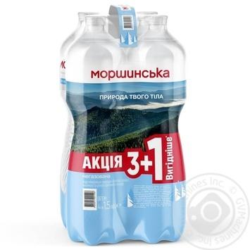 Вода минеральная Моршинская негазированная 4шт*1.5л - купить, цены на Восторг - фото 2