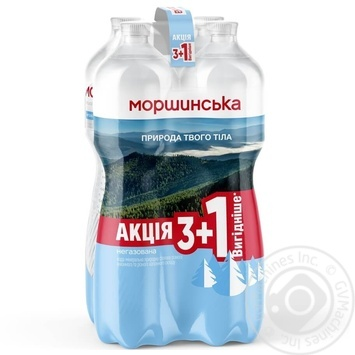Morshynsʹka Mineral Non-Carbonated Water 4pc*1.5L - buy, prices for MegaMarket - image 1