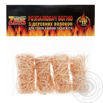 Екорозпалювач вогню Цеус 50г Р010-4 - купить, цены на Восторг - фото 1