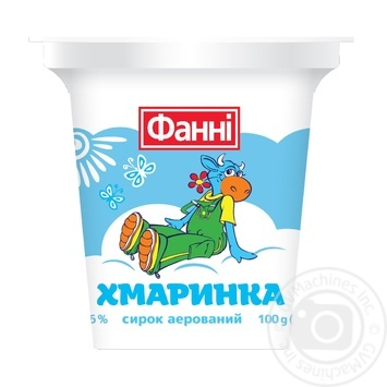 Fanni Khmarynka Sour milk curd  3,6% 100g - buy, prices for MegaMarket - image 1