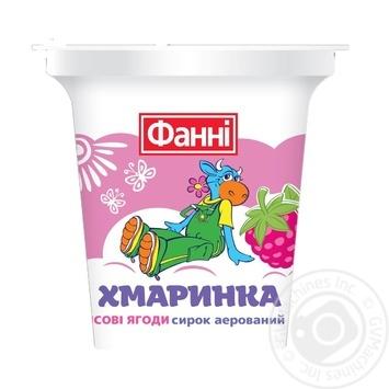 Сырок Фанни Облачко лесные ягоды 3,4% 100г - купить, цены на Varus - фото 1