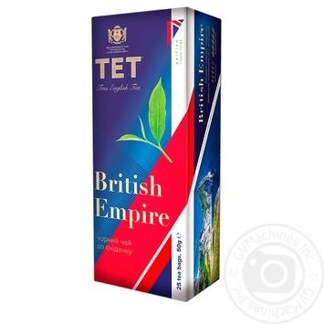 Чай ТЕТ Британська імперія чорний байховий 25шт х 2г - купити, ціни на CітіМаркет - фото 1