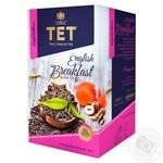 Чай ТЕТ English Breakfast черный 20шт*2г