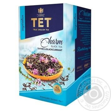 Чай черный ТЕТ шарм 20шт*2г