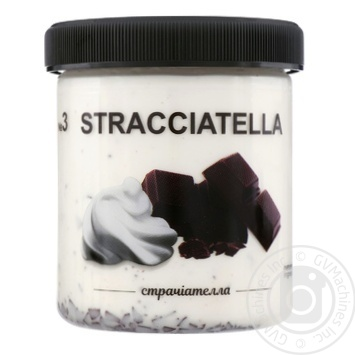 Мороженое La Gelateria Italiana Страчиателла №3 330г - купить, цены на Восторг - фото 1