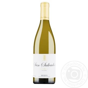 Вино Bodega del Abad San Salvador белое сухое 13.5% 0.75л