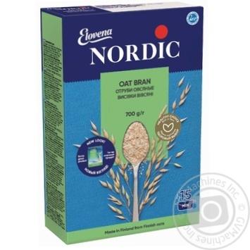 Пластівці висівок Нордік вівсяні тонкі дрібні розсипчасті 700г - купити, ціни на Метро - фото 1