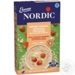 Каша вівсяна Nordic білий шоколад та полуниця 210г