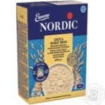 Oat flakes Nordic with wheat bran 600g