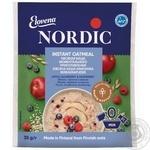 Каша овсяная Нордик яблоко черника малина моментального приготовления 35г Финляндия - купить, цены на Novus - фото 1