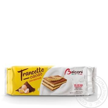 Бисквиты Balconi Trancetto с крем-какао 10шт*28г
