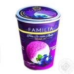 Мороженное Максхолод Familia с черничным вареньем 140г