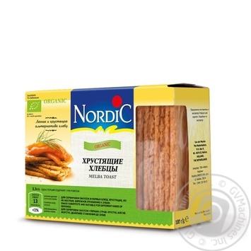 Хлебцы Nordic органический хрустящие 100г - купить, цены на Ашан - фото 1