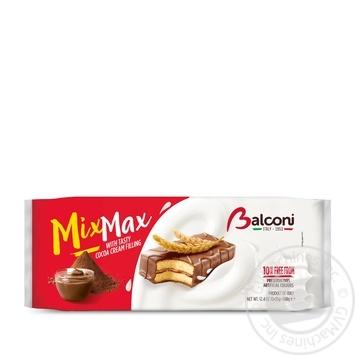 Пирожные Balconi Mix Max с какао 10шт*35г