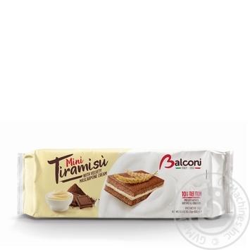 Бисквиты Balconi Тирамису мини 10шт*30г