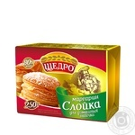 Shchedro Puff Pastry for Home Baking Margarine 80% 250g