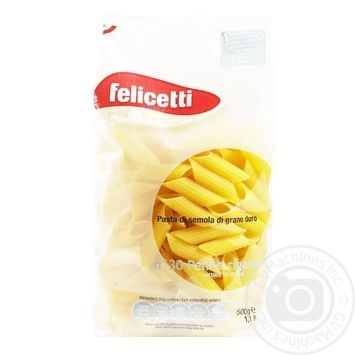 Felicetti Penne Rigate Pasta 500g - buy, prices for CityMarket - photo 1