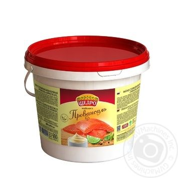 Schedro Provencale Mayonnaise 67% 900g - buy, prices for MegaMarket - image 1