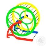 Бігове колесо для гризунів Природа на підставці 14см