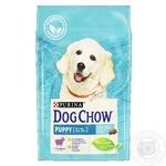 Корм сухой Purina Dog Chow ягненок для собак до 1года 2,5кг