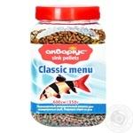 Корм для рыб Аквариус гранулы 350г