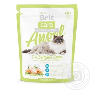 Food Brit dry for cats 400g