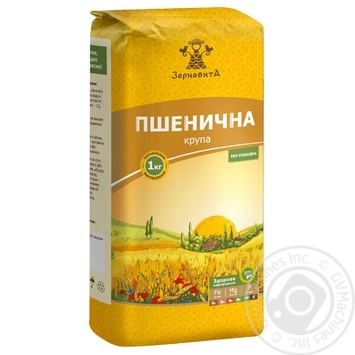 Zernovyta Wheat Groats 1kg - buy, prices for MegaMarket - image 1