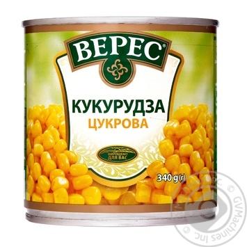 Кукуруза Верес сахарная 340г - купить, цены на Ашан - фото 3
