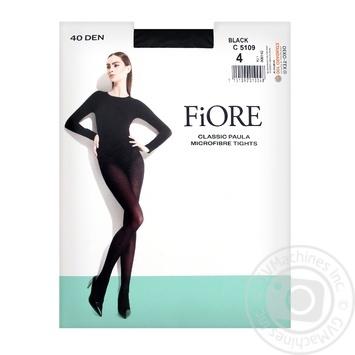 Колготы Fiore Paula женские 40 ден черные размер 4