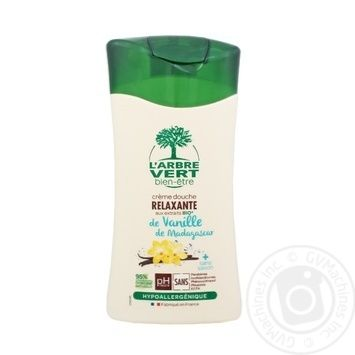 L'Arbre Vert de Vanille de Madagascar Shower Gel 250ml