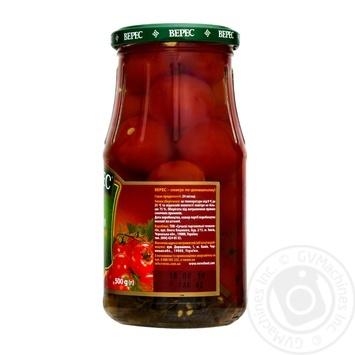 Томаты Верес Черри маринованные 500г - купить, цены на Novus - фото 2