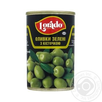 Оливки Lorado с косточкой 300г - купить, цены на Varus - фото 1