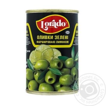 Оливки Lorado фаршировані лимоном 300г
