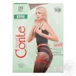 Колготы Conte Style женские 20 ден натуральные размер 2