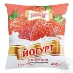 Йогурт Злагода Клубника 1.5% 400г - купить, цены на Фуршет - фото 3