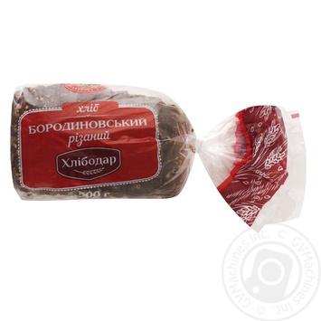 Хліб Хлібодар Бородиновський нарізний 500г