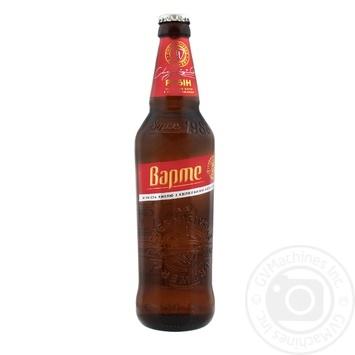 Пиво Черниговское Варте Рубин светлое 4,5% 0,5л - купить, цены на Novus - фото 1