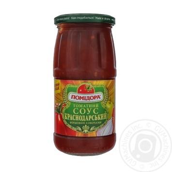 Соус томатний Помідора Краснодарський фірмовий з овочами 450г