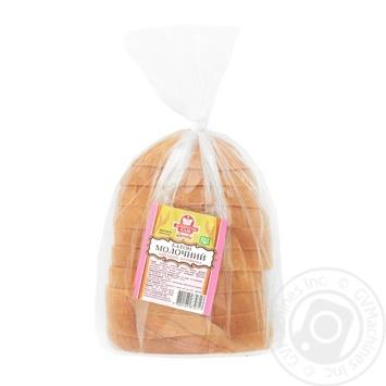 Katerynoslavkhlib Milk Sliced Half Loaf 250g