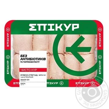 Мясо бедра Epikur курицы-бройлера охлажденное весовое (большая упаковка) - купить, цены на Метро - фото 1