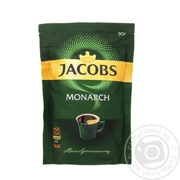 Кава Jacobs Monarch розчинна 90г - купити, ціни на Novus - фото 1