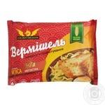 Вермишель Golden Dragon быстрого приготовления со вкусом мяса 65г
