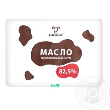Масло Вильнянка Экстра 82,5% сладкосливочное 200г