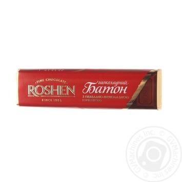 Батончик Roshen шоколадный с помадно-шоколадной начинкой 43г