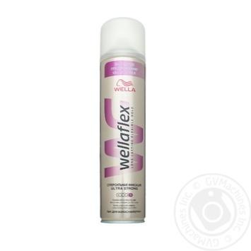 Лак Wellaflex супер сильная фиксация для волос 400мл