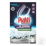 Соль Dr.Prakti для посудомоечных машин 1,5кг