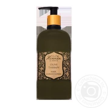 Кондиционер для волос Pielor Оливковая терапия с экстрактом оливкового масла 400мл