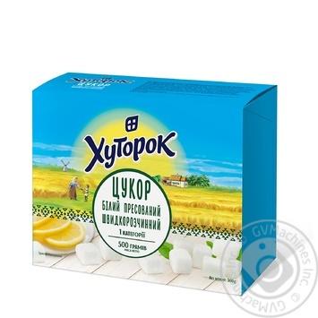 Khutorok granulated sugar 500g - buy, prices for Furshet - image 2