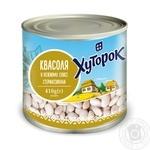 Khutorok beans in gentle sauce 410g